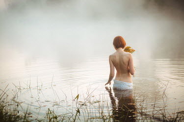 Alexander Kuzovkov Woman topless in water Women