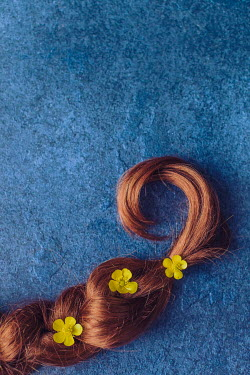 Des Panteva PIGTAIL COVERED WITH BUTTERCUPS Miscellaneous Objects