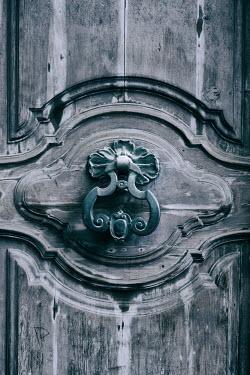 Galya Ivanova DOOR KNOCKER ON WOODEN DOOR Building Detail