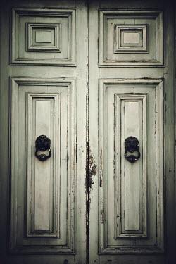 Irene Lamprakou SHABBY DOOR WITH KNOCKERS Building Detail