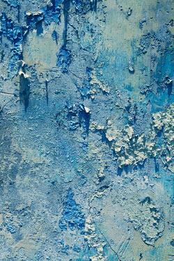 Irene Lamprakou Blue peeling wall Building Detail