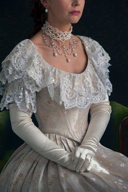 Lee Avison wealthy victorian woman mid section Women