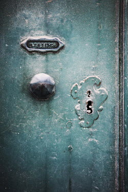Irene Lamprakou OLD LETTER BOX AND KEYHOLE Building Detail