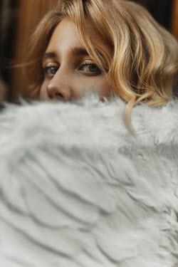 Kirill Sakryukin Girl with feather wings Women