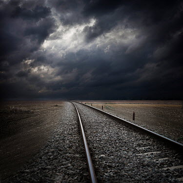 Alessandra Favetto REMOTE RAILWAY TRACK Railways/Trains