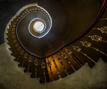 Jaroslaw Blaminsky ORNATE SPIRAL STAIRCASE Stairs/Steps