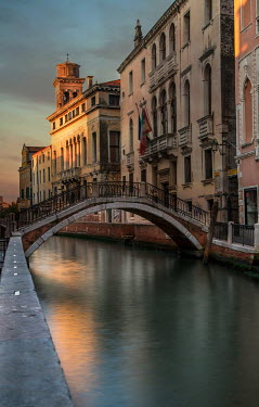 Jaroslaw Blaminsky BRIDGE OVER VENETIAN CANAL Miscellaneous Cities/Towns
