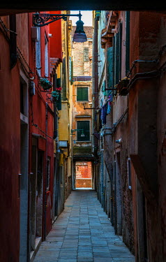 Jaroslaw Blaminsky COLOURFUL VENETIAN ALLEYWAY Miscellaneous Cities/Towns