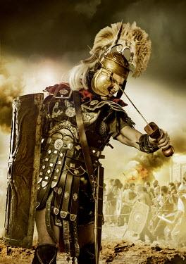 CollaborationJS A praetorian  guard  under attack Men