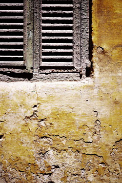 Irene Lamprakou Corner of window rustic shutters Building Detail