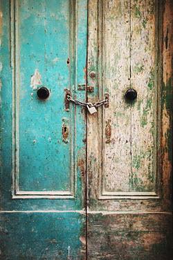 Irene Lamprakou PADLOCKED PEELING DOORS Building Detail