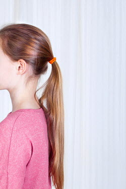 Jean Ladzinski Young girl's long ponytail Children