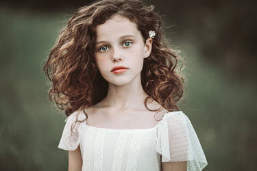 Jovana Rikalo Little girl with curly hair Children