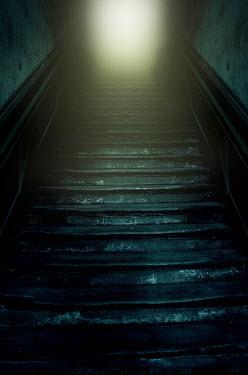 Jaroslaw Blaminsky Eerie staircase from below Building Detail