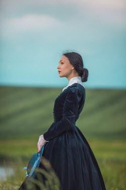 Joanna Czogala 19th century woman in field Women
