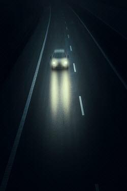 Magdalena Russocka car on highway at night Cars