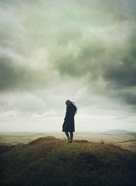 Mark Owen Woman stood on hill Women