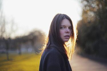 Anna Rakhvalova Young woman at sunset Women