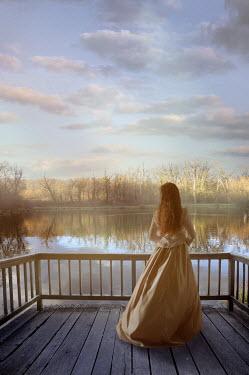 Drunaa Woman near lake