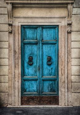 Jaroslaw Blaminsky EXTERIOR OF HISTORICAL DOOR WITH HANDLES Building Detail