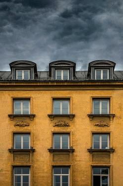 Jaroslaw Blaminsky EXTERIOR OF HOUSE WITH STORMY SKY Houses