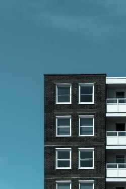 Trevor Payne Building block and blue sky Building Detail