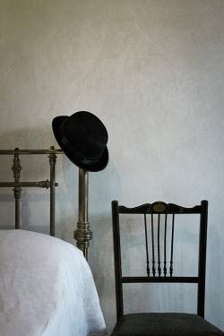 Peter Chadwick CHAIR WITH HAT ON BEDHEAD Miscellaneous Objects