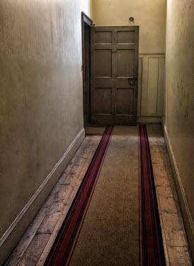 Brian Law Open door in hallway Interiors/Rooms