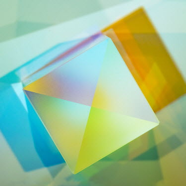 Brian Law Futuristic colourful cube graphics Miscellaneous Objects
