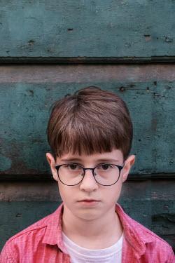 Maria Petkova close up of litte boy with glasses Children