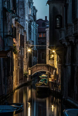 Jaroslaw Blaminsky Venice canal and buildings Specific Cities/Towns