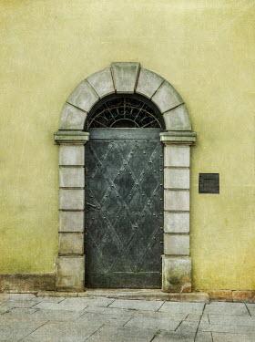 Jaroslaw Blaminsky Archaic arched doorway Building Detail