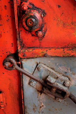 Ute Klaphake Rusty old red lock Miscellaneous Objects