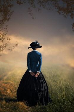 Ildiko Neer Historical woman standing at field