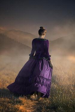 Ildiko Neer Historical woman walking at field
