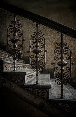 Jaroslaw Blaminsky CLOSE UP OF OLD STAIRCASE Stairs/Steps