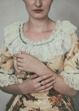 Jaroslaw Blaminsky HISTORICAL WOMAN IN TRADITIONAL DRESS Women