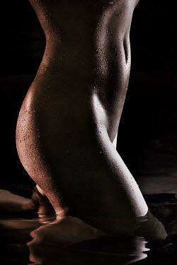 Alex Maxim MID SECTION OF WET NAKED WOMAN Women