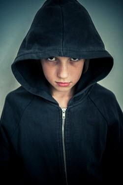 Katya Evdokimova YOUNG ANGRY HOODED GIRL Children