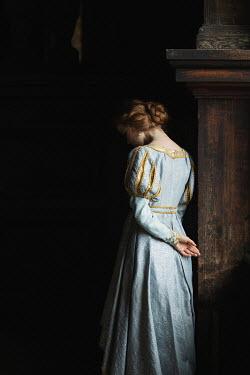 Dorota Gorecka HISTORICAL WOMAN IN EMBROIDERED DRESS Women