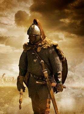Stephen Mulcahey A medieval warrior on the battlefield Men