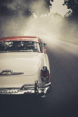 Trevor Payne 1956 Mercury Montclair on road