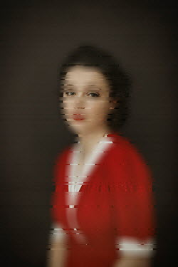 Shelley Richmond Blurred portrait of young woman