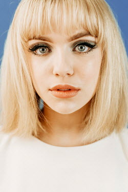 Shelley Richmond FACE OF 1960S GIRL WITH MAKE UP Women