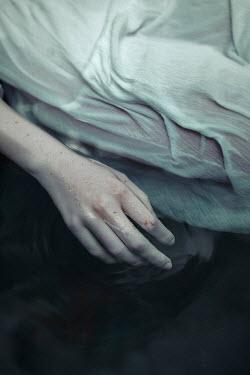 Shelley Richmond FEMALE IN WHITE DRESS FLOATING IN WATER Women