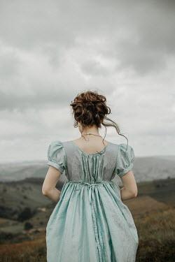 Shelley Richmond REGENCY WOMAN STANDING IN COUNTRYSIDE Women