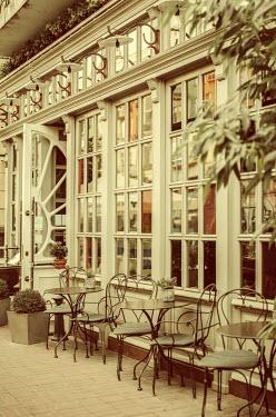 Svitozar Bilorusov Tables outside cafe