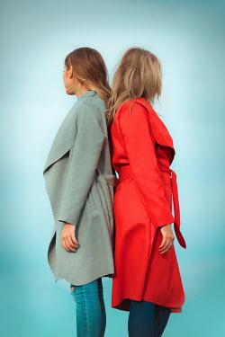 Ildiko Neer Two women standing back to back