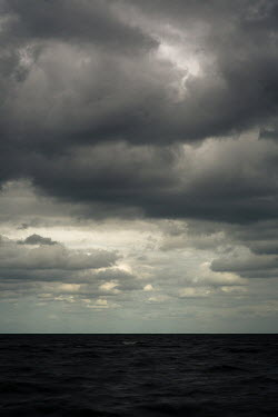 Michael Nelson SEA WITH STORMY SKY Seascapes/Beaches