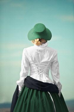 Ildiko Neer Historical woman standing outside